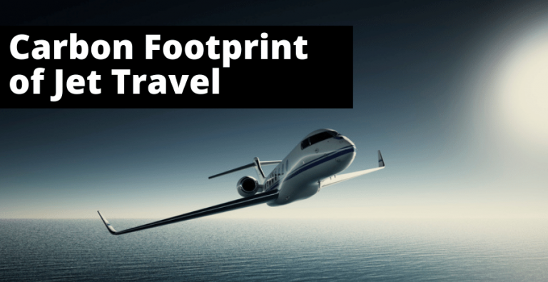 carbon footprint of jet travel